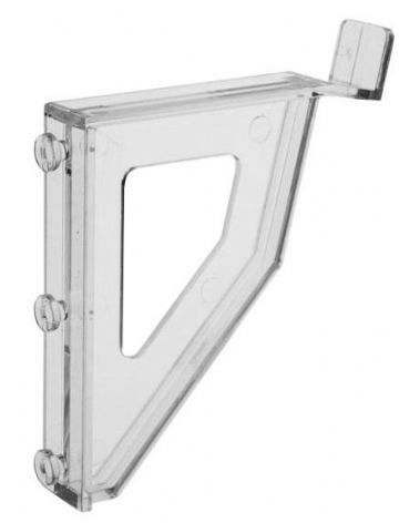 CL-LSB | Pair of ClipLock Leaning Brackets for slatwall mounting